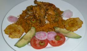 Arroz Con Pollo with a Caribbean and Indian Touch (VIDEO)