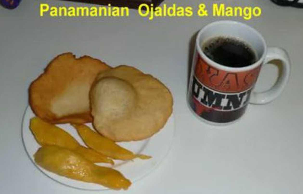 Making Panamanian Ojaldas – Fried Bread (VIDEO)